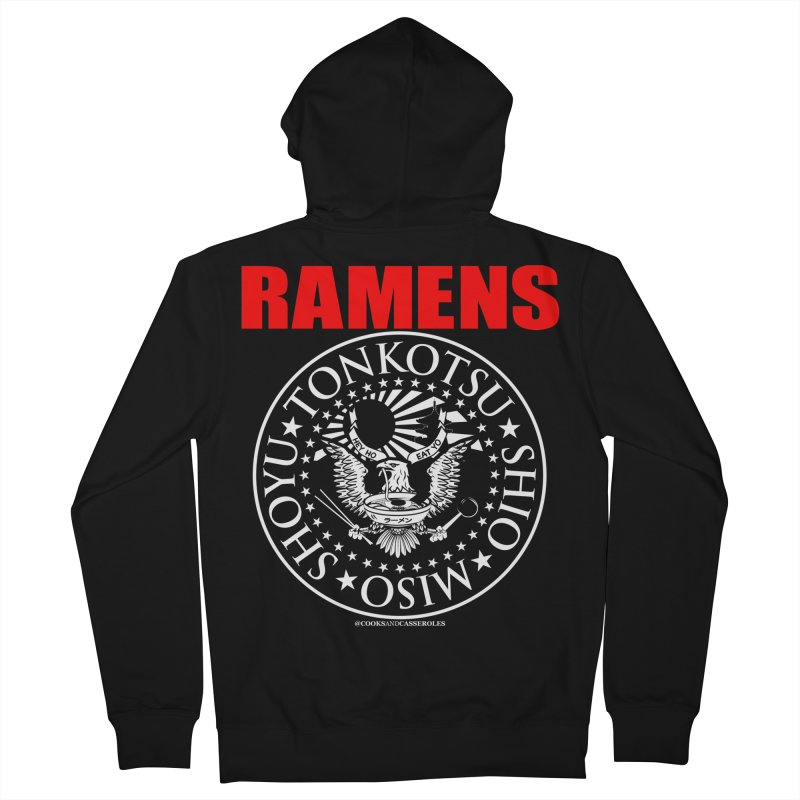 RAMENS RED Women's Zip-Up Hoody by RAMENS Shirts by Cooks and Casseroles