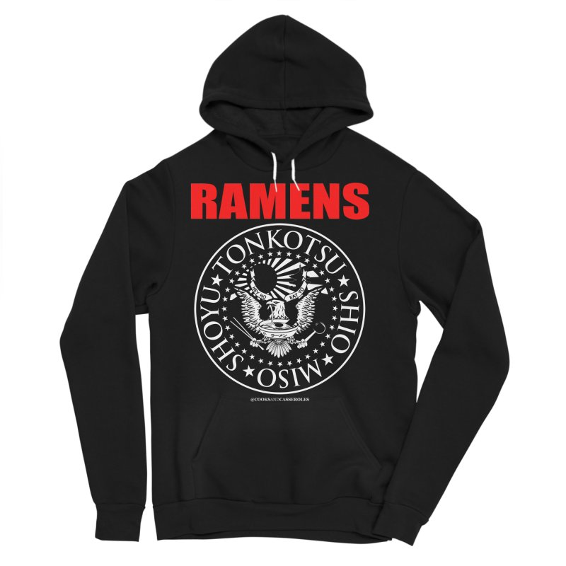 RAMENS RED Men's Pullover Hoody by Cooks and Casseroles