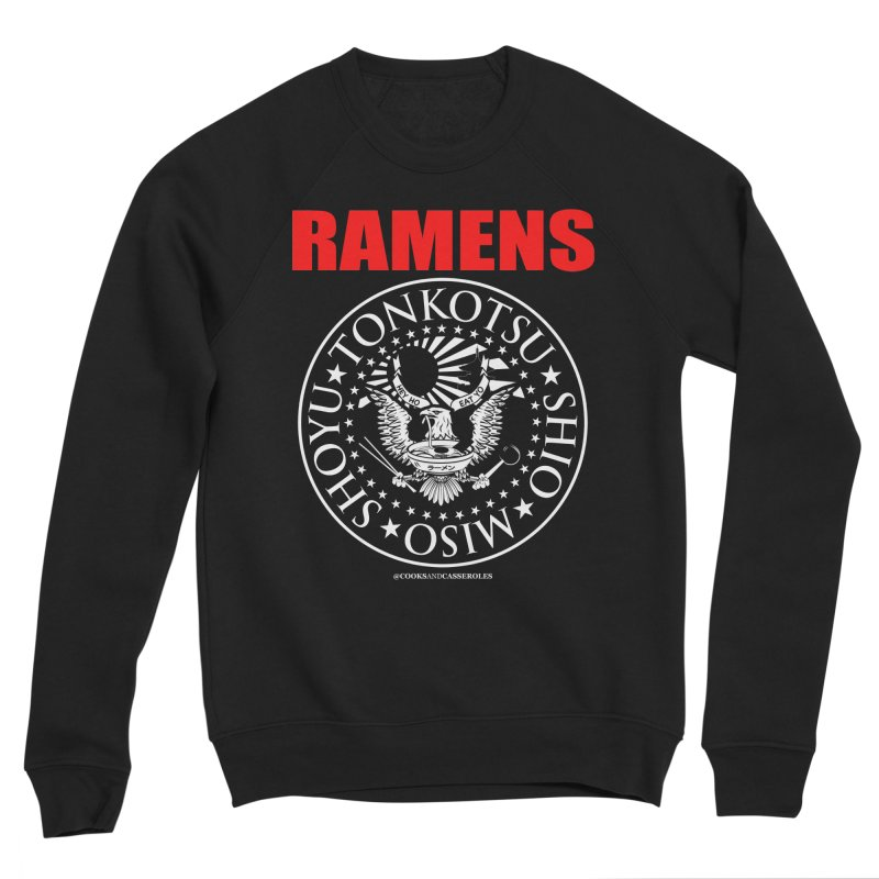 RAMENS RED Men's Sweatshirt by Cooks and Casseroles