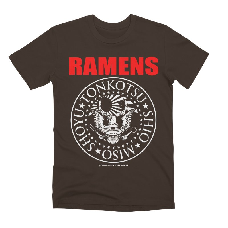 RAMENS RED Men's Premium T-Shirt by Cooks and Casseroles