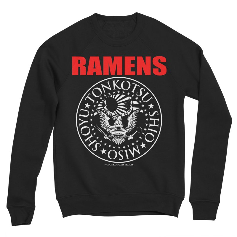 RAMENS RED Men's Sweatshirt by RAMENS Shirts by Cooks and Casseroles