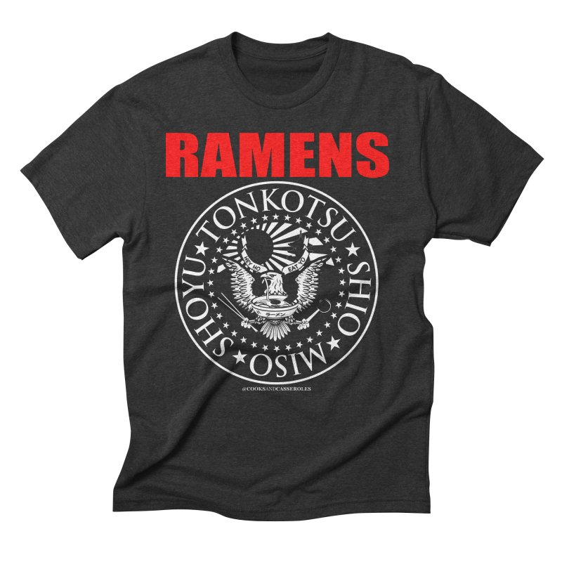 RAMENS RED Men's Triblend T-Shirt by Cooks and Casseroles