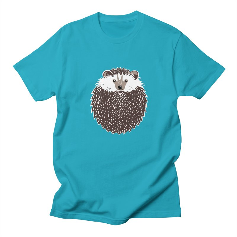 Huffy Hedgehog Men's T-Shirt by Cool Stuff I Want to Buy
