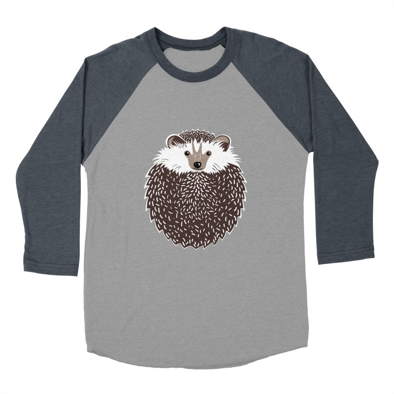 Huffy Hedgehog Men's Baseball Triblend T-Shirt by Cool Stuff I Want to Buy