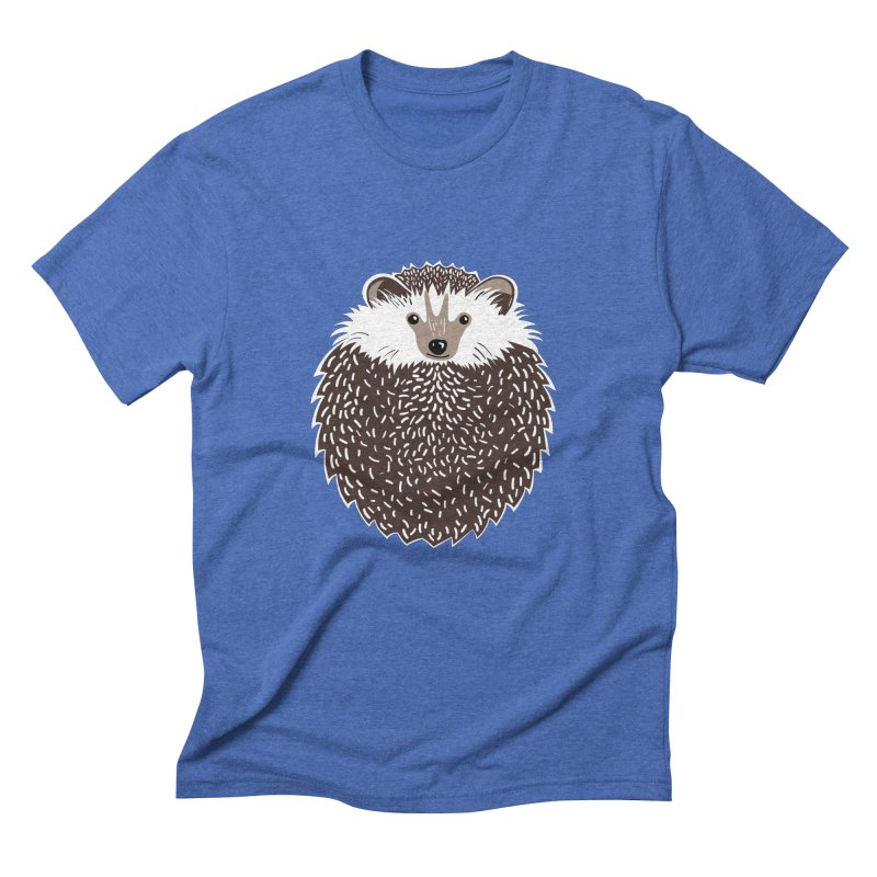 Huffy Hedgehog Men's Triblend T-shirt by Cool Stuff I Want to Buy