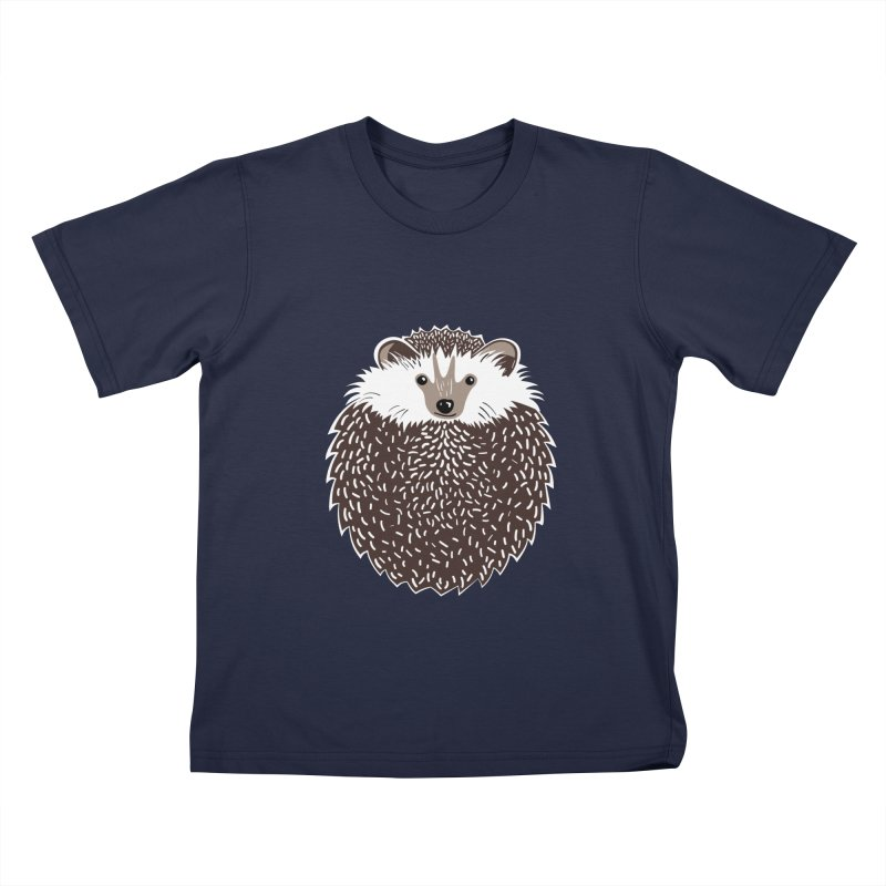 Huffy Hedgehog Kids T-shirt by Cool Stuff I Want to Buy