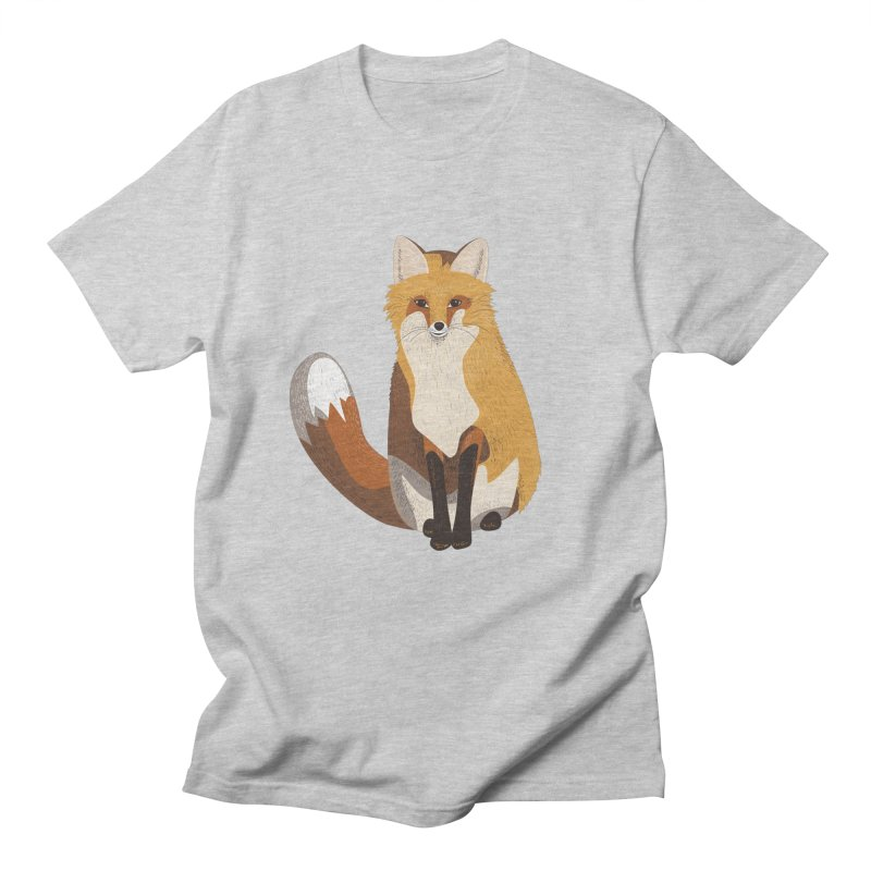 Frisky Fox Men's T-shirt by Cool Stuff I Want to Buy