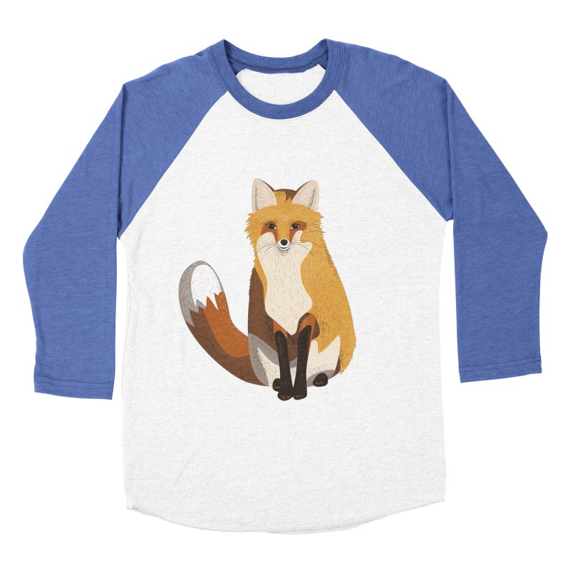 Frisky Fox Women's Baseball Triblend T-Shirt by Cool Stuff I Want to Buy
