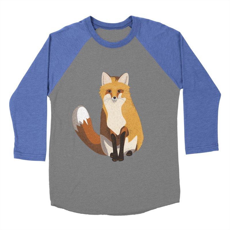 Frisky Fox Women's Baseball Triblend T-Shirt by Cool Stuff I Want to Buy