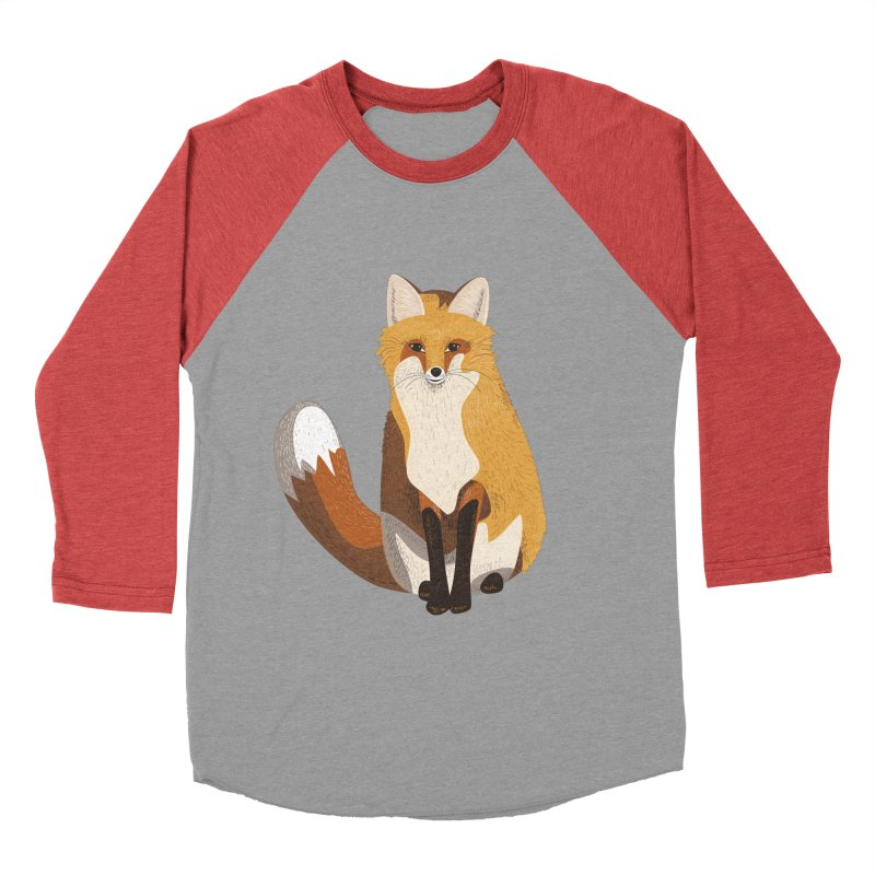 Frisky Fox Men's Baseball Triblend T-Shirt by Cool Stuff I Want to Buy