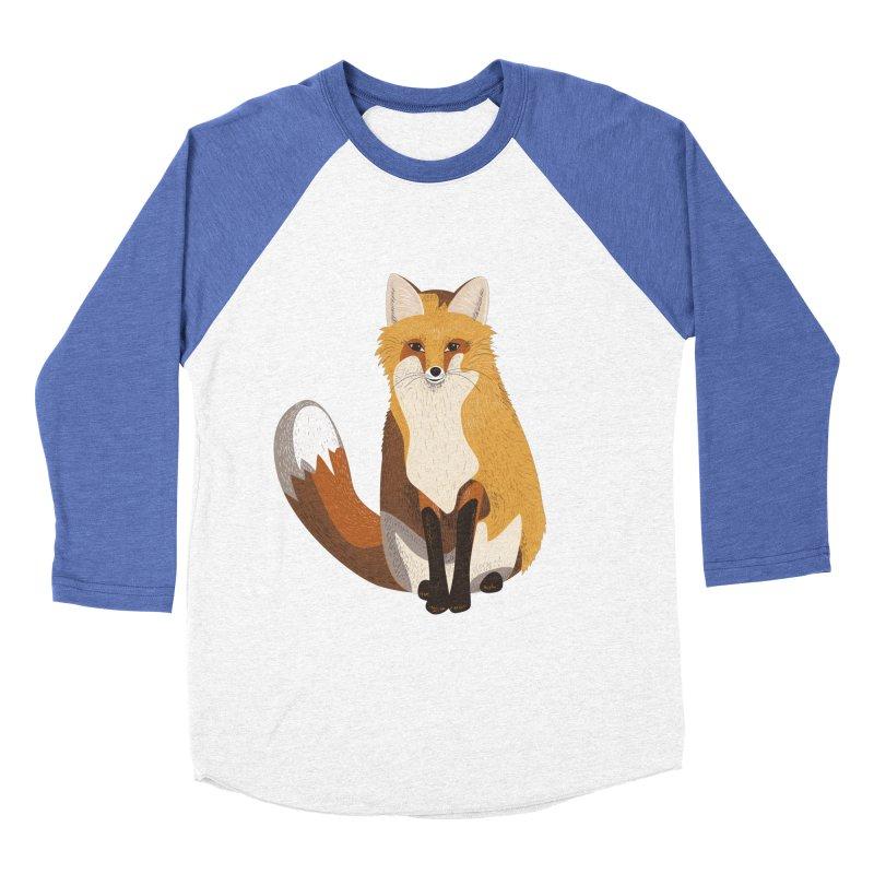 Frisky Fox Men's Baseball Triblend T-Shirt by Cool Stuff I Want to Buy