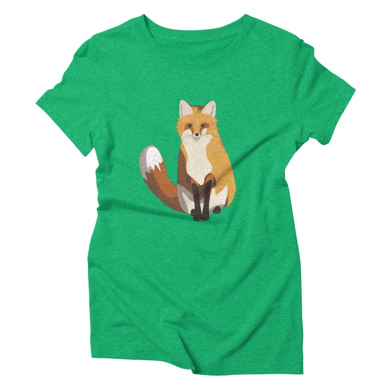 Frisky Fox Women's Triblend T-Shirt by Cool Stuff I Want to Buy