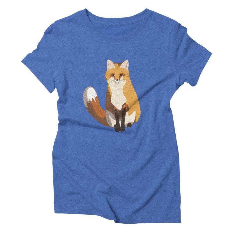 Frisky Fox Women's Triblend T-Shirt by Cool Stuff I Want to Buy