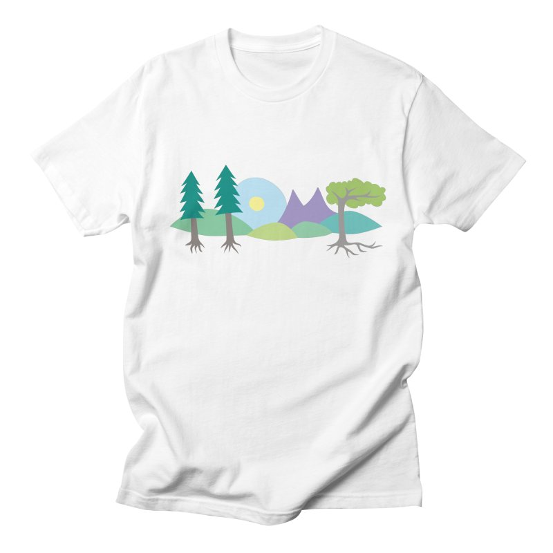 At Home In Nature Men's T-Shirt by Cool Stuff I Want to Buy