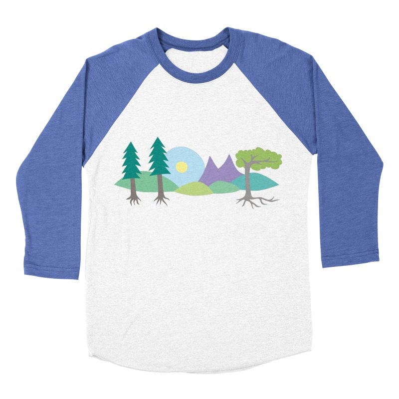 At Home In Nature Women's Baseball Triblend T-Shirt by Cool Stuff I Want to Buy