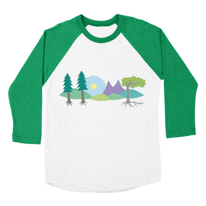 At Home In Nature Men's Baseball Triblend T-Shirt by Cool Stuff I Want to Buy
