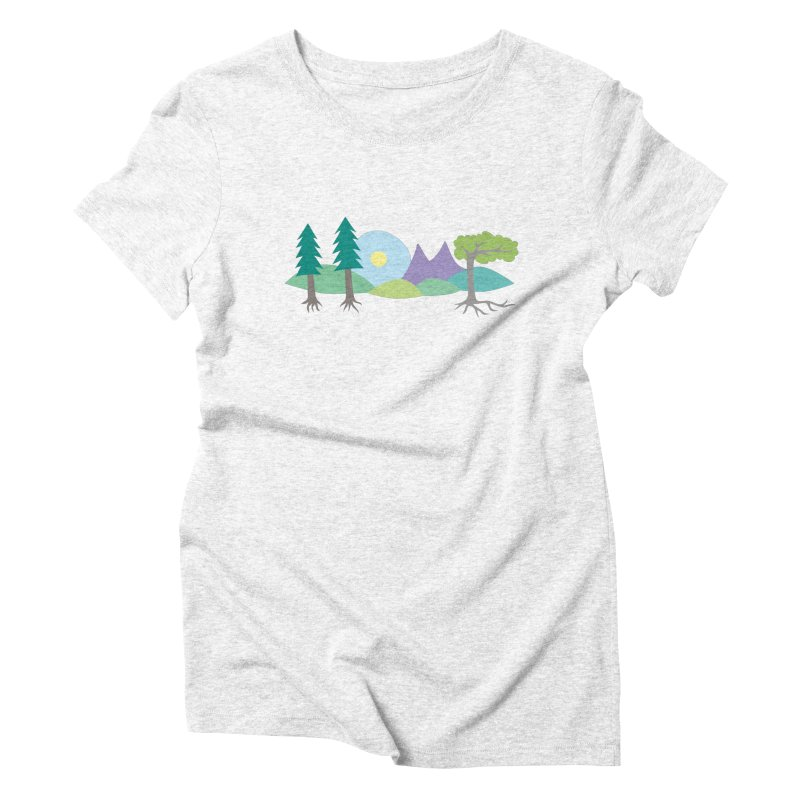 At Home In Nature Women's Triblend T-shirt by Cool Stuff I Want to Buy