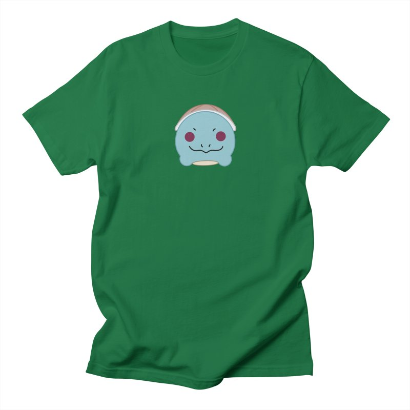 Poketsum Series - Squirtle in Men's T-shirt Kelly Green by Cool As A Cucumber