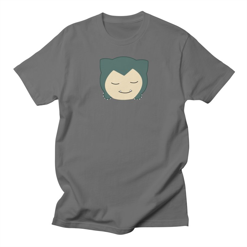 795036ed Poketsum Series - Snorlax Men's T-Shirt by Cool As A Cucumber