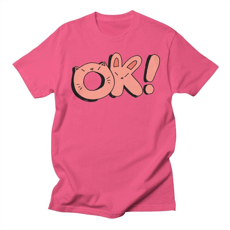 OK! Men's Regular T-Shirt by Cool Boy