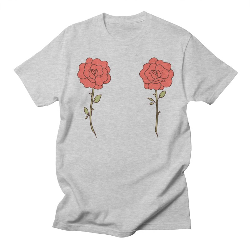 Rose Pals in Men's Regular T-Shirt Heather Grey by Cool Boy