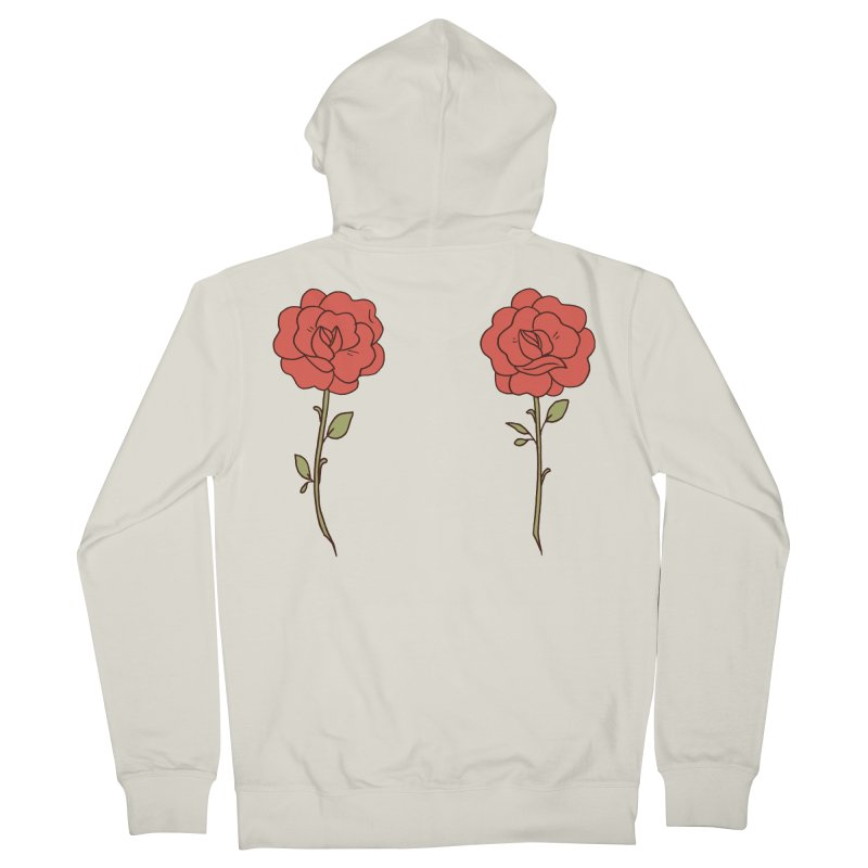 Rose Pals Men's French Terry Zip-Up Hoody by Cool Boy
