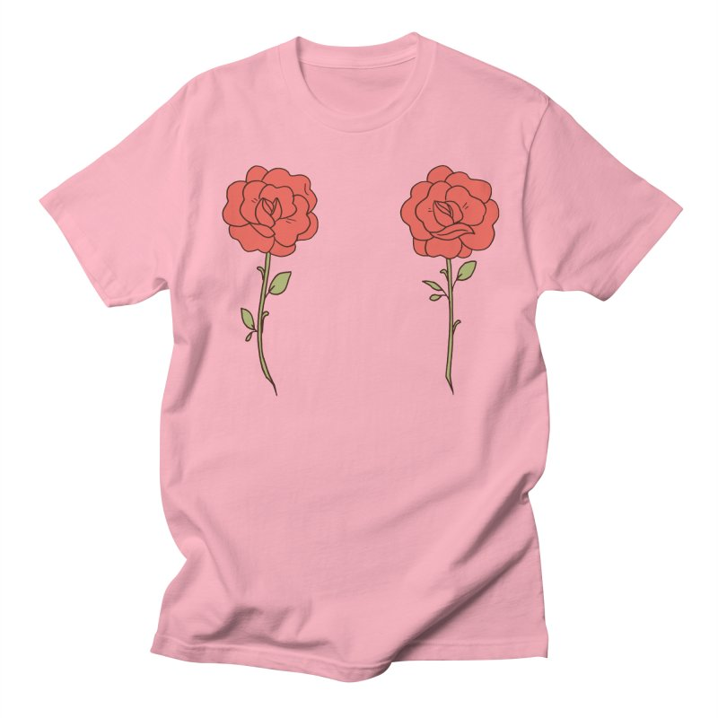 Rose Pals Men's Regular T-Shirt by Cool Boy