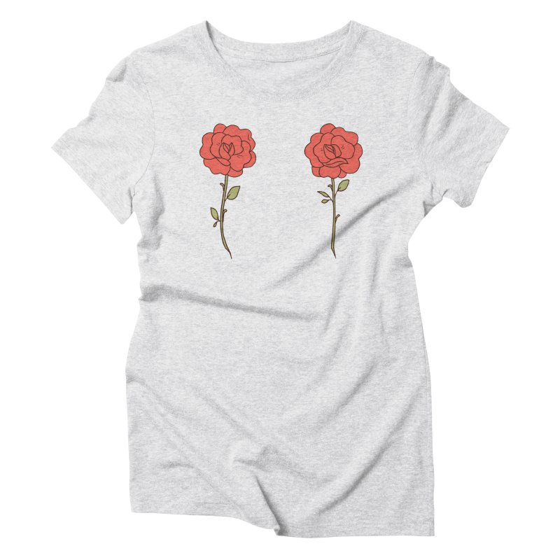 Rose Pals Women's Triblend T-Shirt by Cool Boy