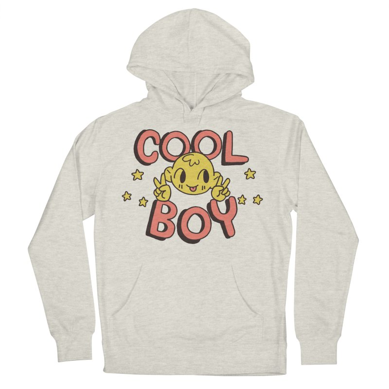 Cool Boy Star Party Women's French Terry Pullover Hoody by Cool Boy