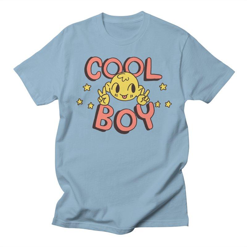 Cool Boy Star Party Men's Regular T-Shirt by Cool Boy