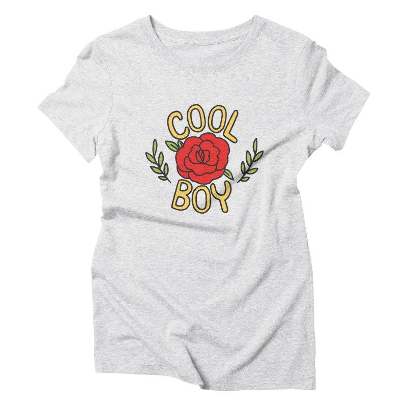 Coolest Boy in Town Women's Triblend T-Shirt by Cool Boy
