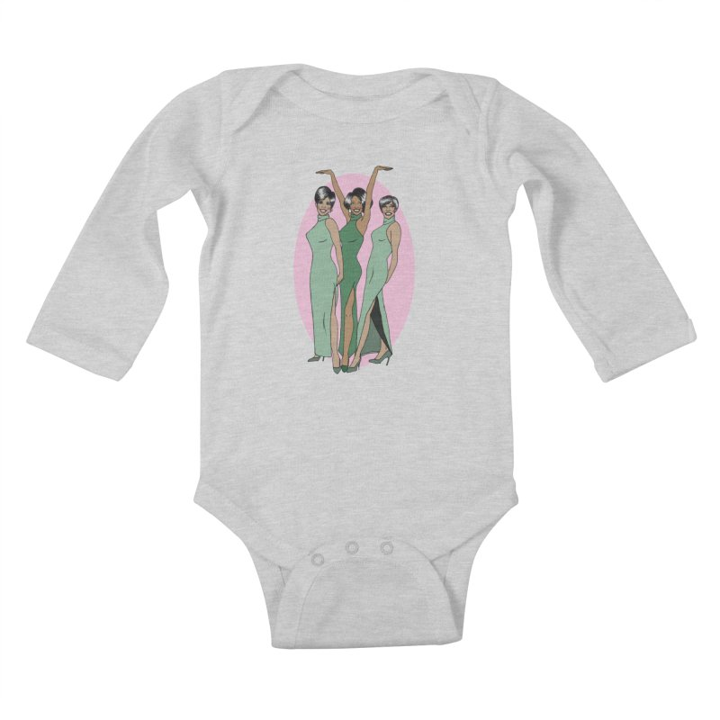 The Supremes Kids Baby Longsleeve Bodysuit by coolsaysnev's Shop