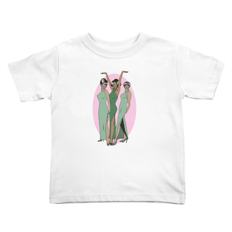 The Supremes Kids Toddler T-Shirt by coolsaysnev's Shop
