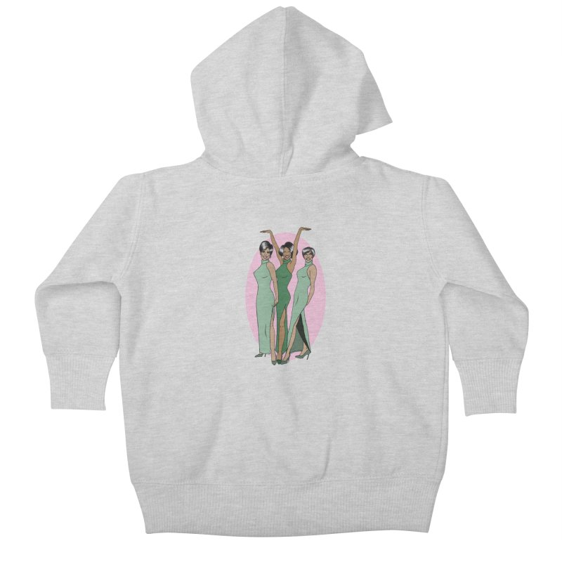 The Supremes Kids Baby Zip-Up Hoody by coolsaysnev's Shop