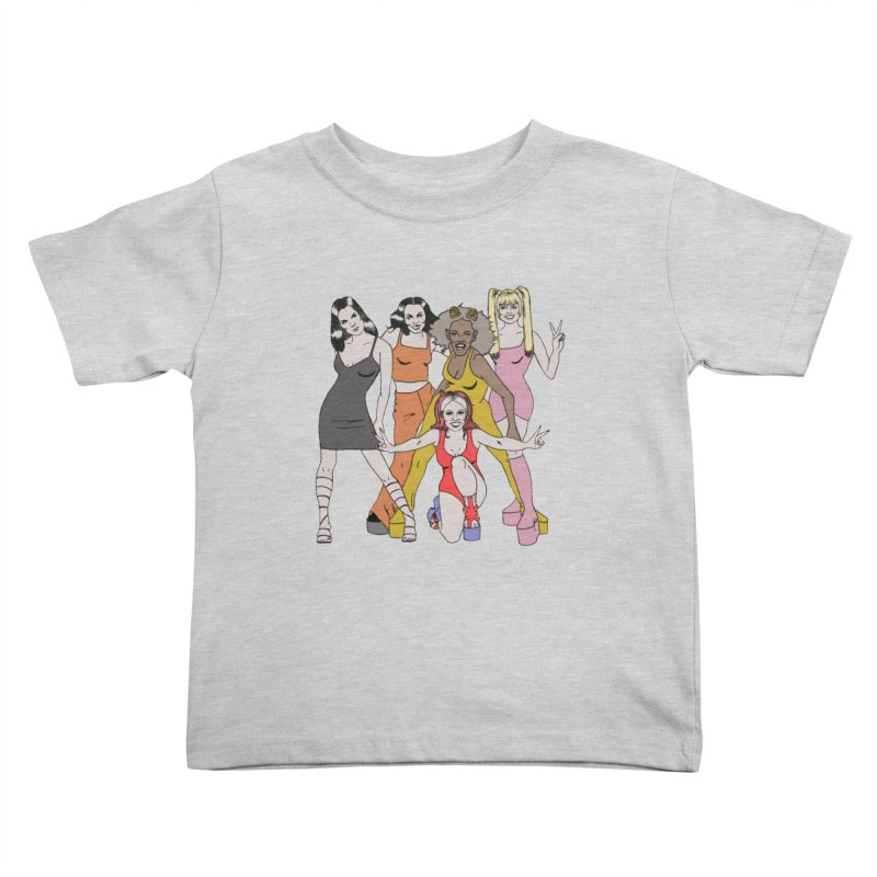 Spice Girls Kids Toddler T-Shirt by coolsaysnev's Shop