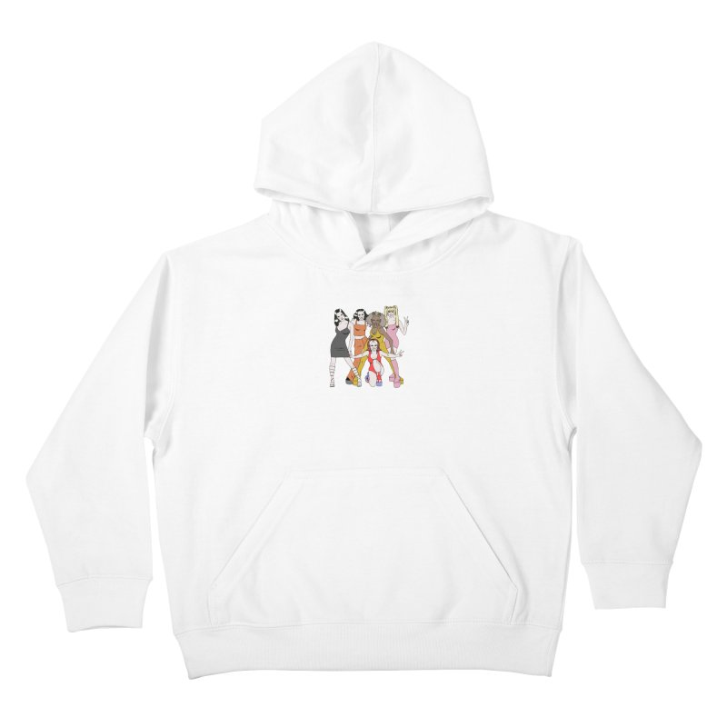 Spice Girls Kids Pullover Hoody by coolsaysnev's Shop