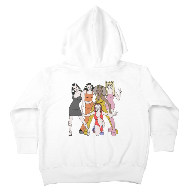 Spice Girls Kids Toddler Zip-Up Hoody by coolsaysnev's Shop