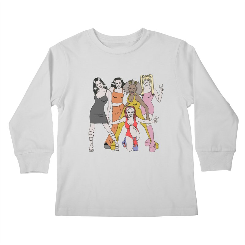 Spice Girls Kids Longsleeve T-Shirt by coolsaysnev's Shop