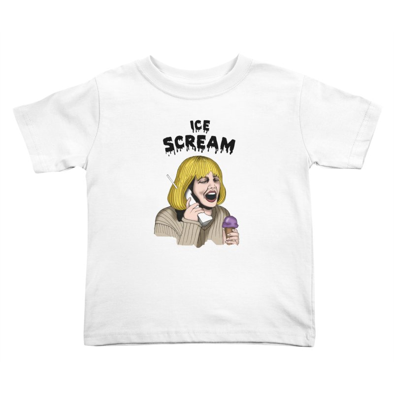 Ice Scream Kids Toddler T-Shirt by coolsaysnev's Shop