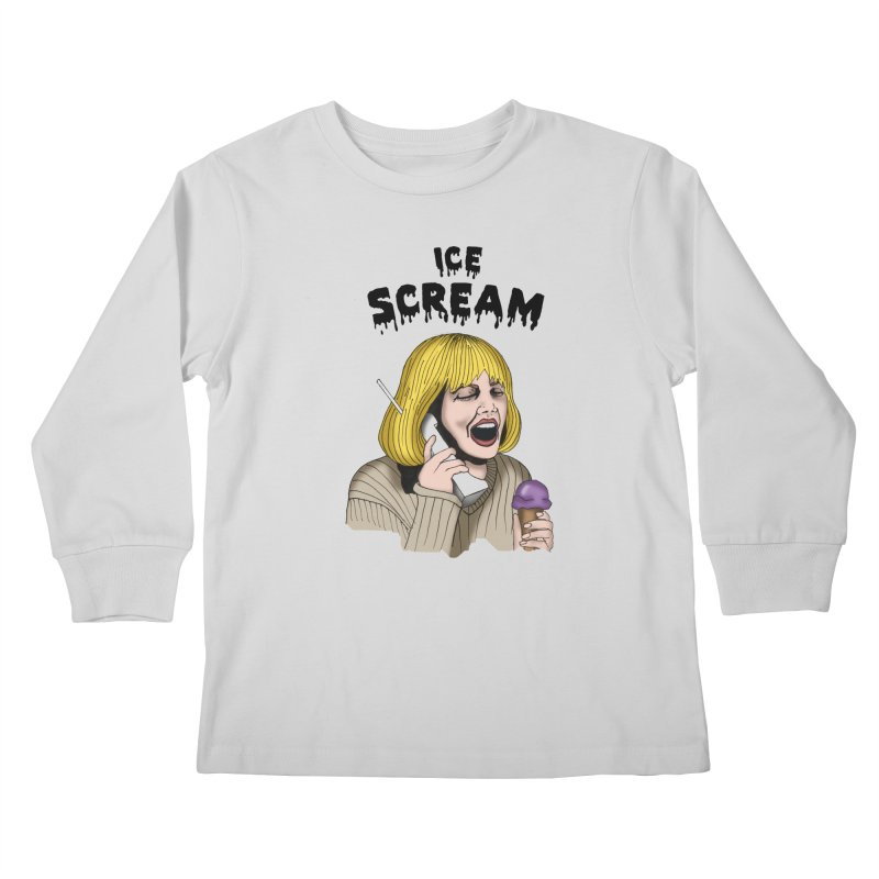Ice Scream Kids Longsleeve T-Shirt by coolsaysnev's Shop