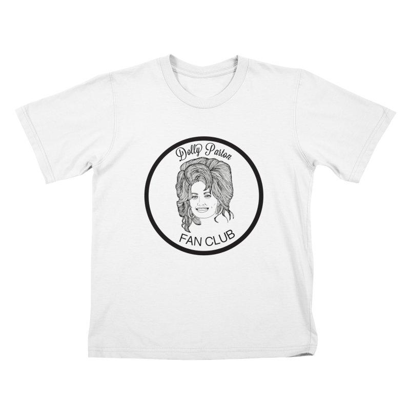 Dolly Parton Fan Club Kids T-Shirt by coolsaysnev's Shop