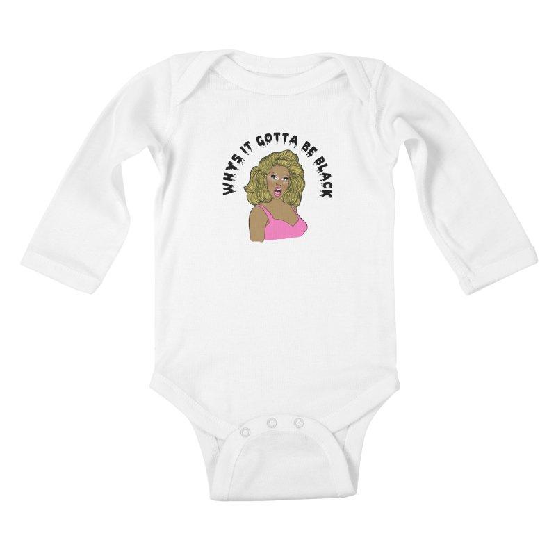 Rupaul Kids Baby Longsleeve Bodysuit by coolsaysnev's Shop