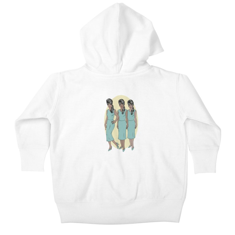 The Ronettes Kids Baby Zip-Up Hoody by coolsaysnev's Shop