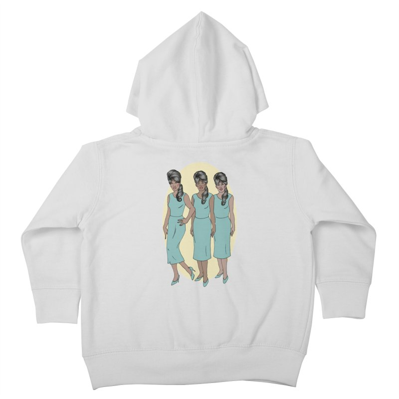 The Ronettes Kids Toddler Zip-Up Hoody by coolsaysnev's Shop