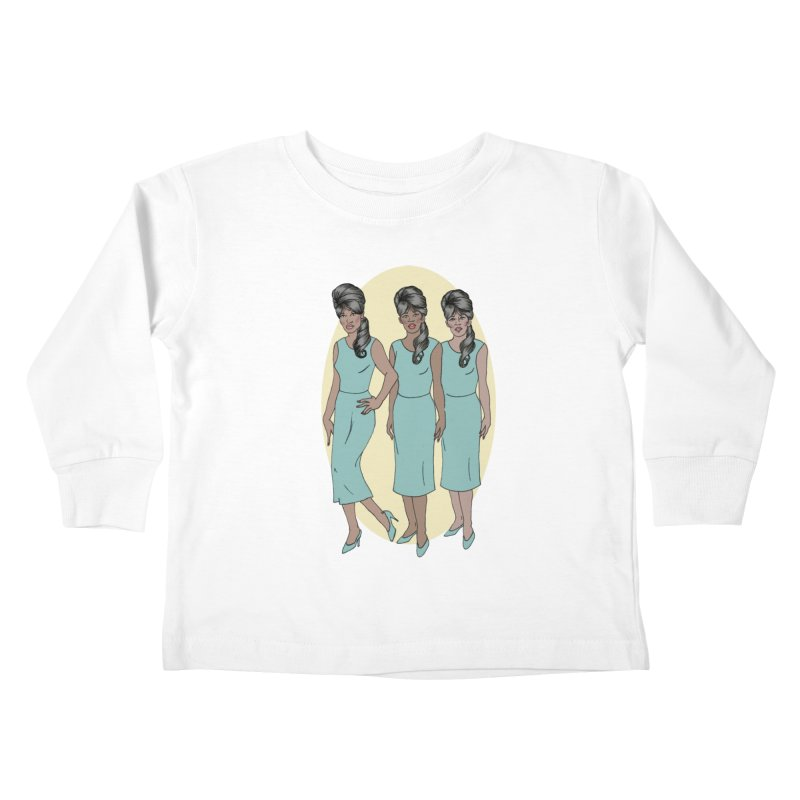 The Ronettes Kids Toddler Longsleeve T-Shirt by coolsaysnev's Shop