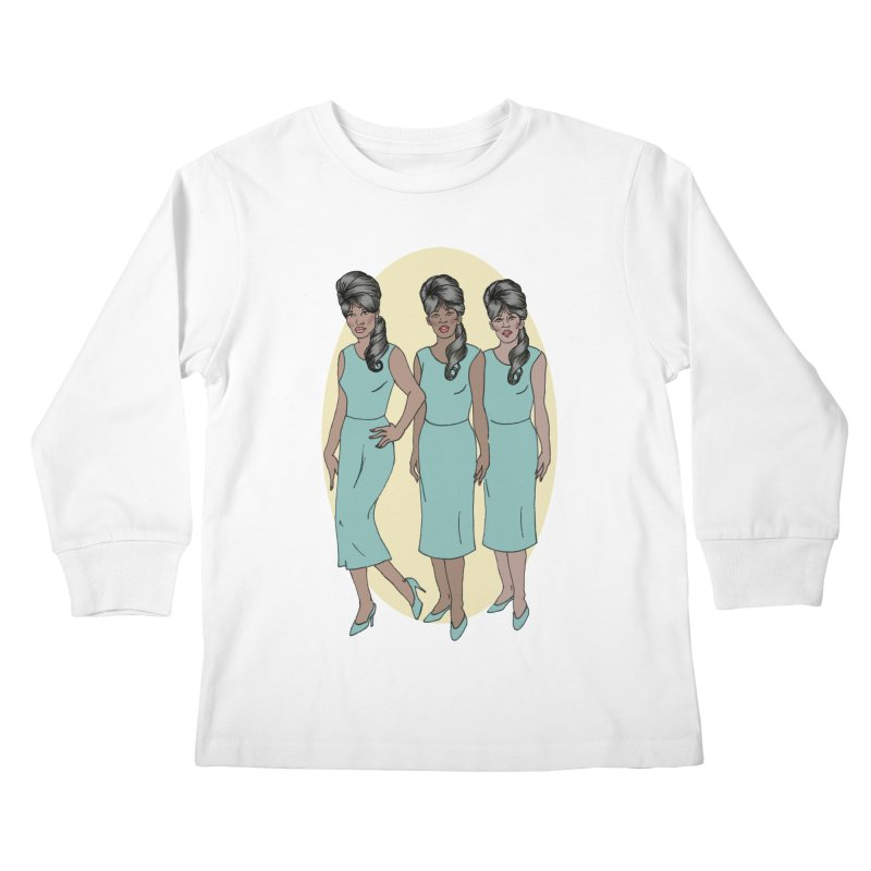 The Ronettes Kids Longsleeve T-Shirt by coolsaysnev's Shop