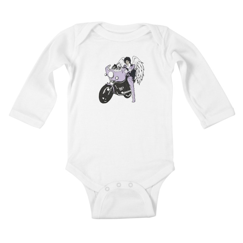 Prince Kids Baby Longsleeve Bodysuit by coolsaysnev's Shop