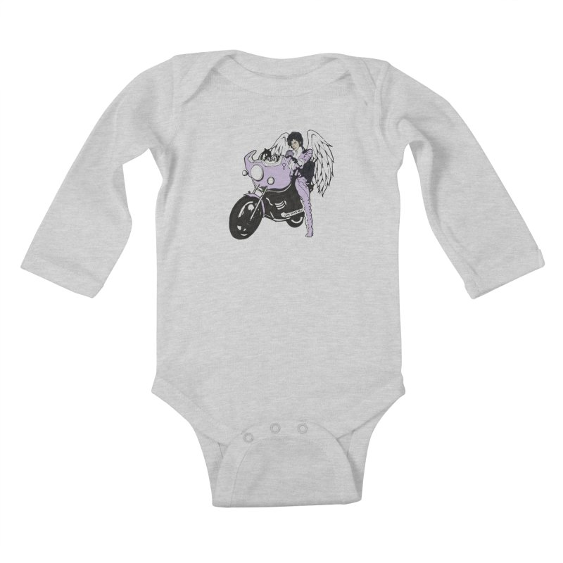 Prince Kids Baby Longsleeve Bodysuit by coolsaysnev's Shop