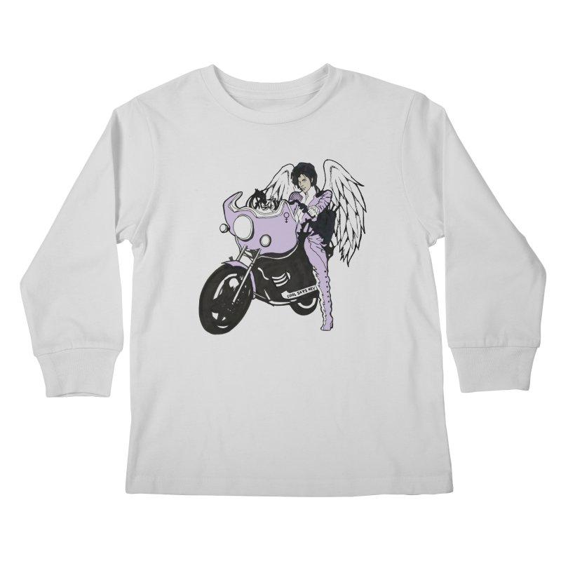 Prince Kids Longsleeve T-Shirt by coolsaysnev's Shop