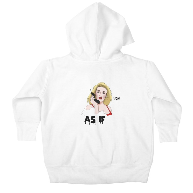 Cher Kids Baby Zip-Up Hoody by coolsaysnev's Shop